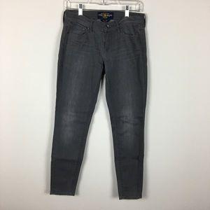 Grey Charlie Skinny Denim Jeans Lucky Brand
